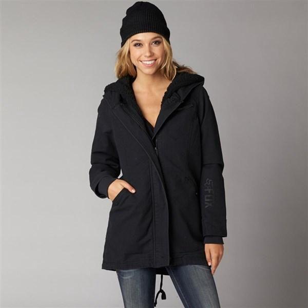 kabát FOX - Stormy Coat Black (001) velikost: XS
