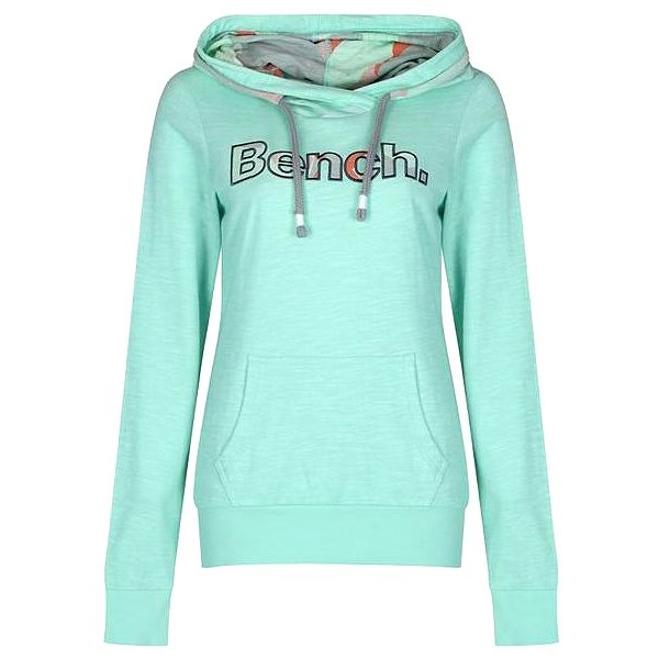 mikina BENCH - Cam Turquoise Green (TQ001) velikost: XS