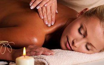 Relaxační masáž zad a šíje v délce 45 minut v Ostravě