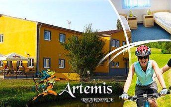 Prožijte ve dvou 3 báječné dny a 2 noci s polopenzí ve středních Čechách ve stylovém penzionu Rezidence Artemis. Nedaleko zajímavých turistických cílů s rozsáhlou sítí turistických tras a cyklostezek