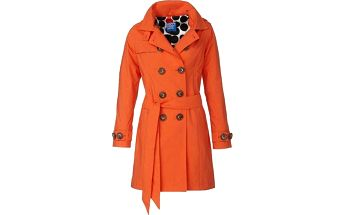 Happy Rainy Days 2658_Trenchcoat with hood Rachel orange