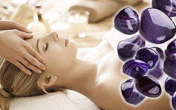 Antistresová indická masáž hlavy + liftingová masáž obličeje, krku, dekoltu s Ametystem - králem kamenů v délce trvání 60 minut. Jste unaveni a ve stresu, objevují se Vám první vrásky, přijďte na ruční liftingovou masáž. Výsledky uvidíte okamžitě!