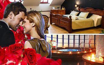 3 denní romantický pobyt pro dva vč. procedur v hotelu Morris Česká Lípa