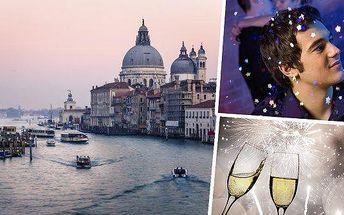 Itálie - Silvestr v Benátkách bude jedinečným zážitkem!! Prožijte netradiční oslavu Silvestra s prohlídkou Benátek s průvodcem a individuálním volnem, kdy se můžete projet na gondole nebo nasát atmosféru města na vodě!!