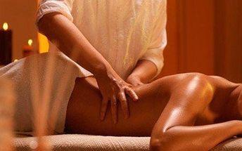 Ájurvédská masáž zad s parafínovým zábalem