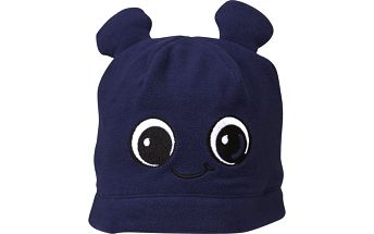 Chlapecká čepice s oušky AMIN 630 - tmavě modrá