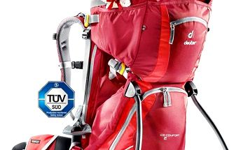 DEUTER Kid Comfort II cranberry-fire