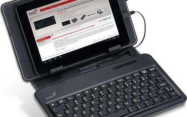 Pouzdro s klávesnicí Genius LuxePad A120, černé