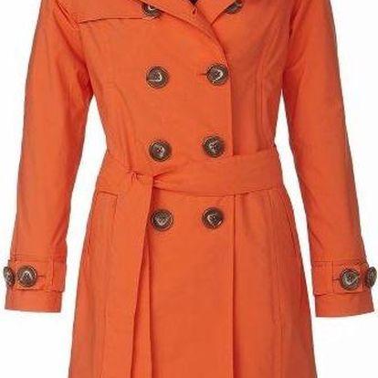 Happy Rainy Days 2658_Trenchcoat with hood Rachel orange