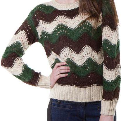Yes!Miss dámský svetr zelený