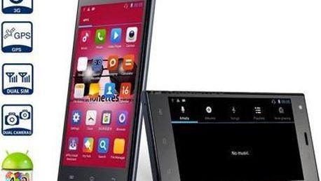 5palcový Smartphone HTM M3 s GPS a 3G. Android 4.2.2! Pouze za 2490 Kč!