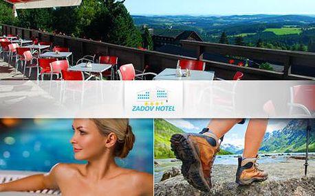 Turistika i wellness pro dva na Šumavě v Hotelu Zadov***+