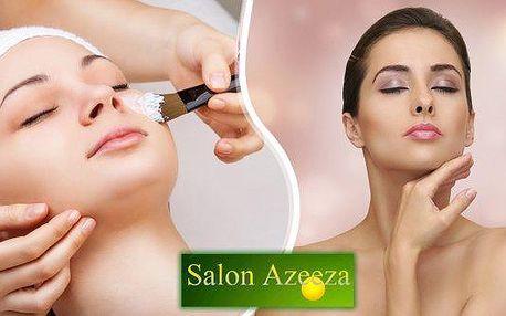 Kompletní kosmetické ošetření pleti v Salonu Azeeza v délce 60 minut. Důkladné čištění pleti, peeling, masáž obličeje, krku a dekoltu i pleťová maska v rámci jednoho ošetření. Dopřejte své pleti profesionální péči.