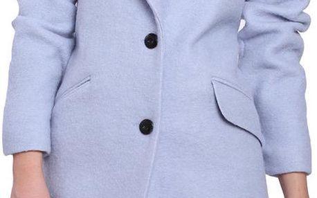 Dámský oversize kabát Vera Ravenna, fialkový