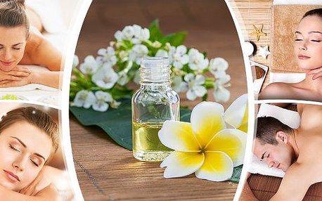 Ruční masáž s aromaterapií - dokonalý zážitek pro Vaše smysly. Dopřejte si masáž zad, šíje nebo jejich kombinaci! Vyzkoušejte umění aromaterapie a vychutnejte si léčebnou sílu silicových olejů, která spojuje požitek z vůně s ozdravnou silou dotyku.