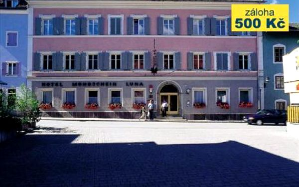 Itálie, oblast Kronplatz / Plan de Corones, doprava vlastní, polopenze, ubytování v 2* hotelu na 6 dní