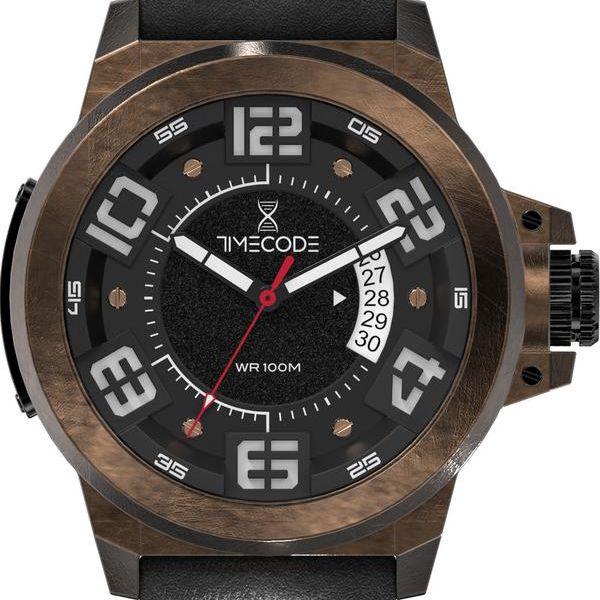 Pánské hodinky X-Rays 1895, Brown/Black - doprava zdarma!