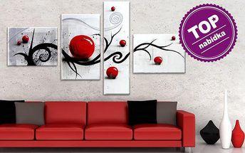 Ručně malované vícedílné obrazy na zeď