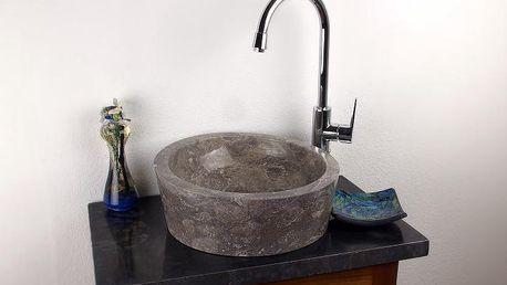 Kamenné umyvadlo - leštěný mramor PISA