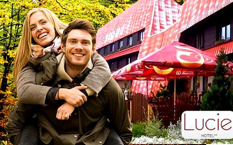 Turistika na Šumavě až pro 4 osoby s ubytováním v Hotelu Lucie na Zadově s bohatým balíčkem