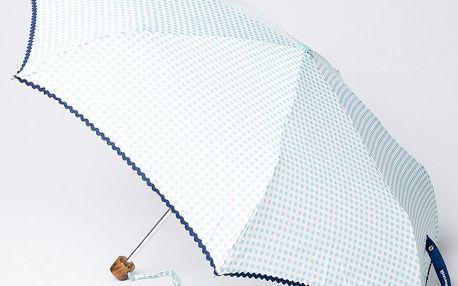 Skládací deštník Vichy, modrý