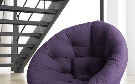 Moderní Futon Nest Purple