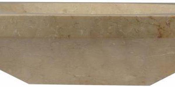 Kamenné umyvadlo - leštěný mramor SALERNO3
