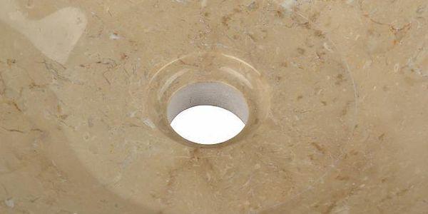 Kamenné umyvadlo - leštěný mramor SALERNO4