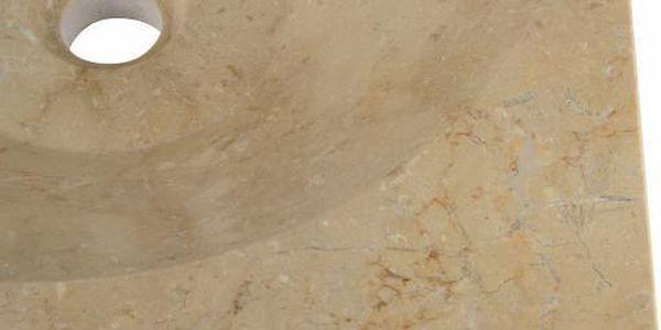 Kamenné umyvadlo - leštěný mramor SALERNO5