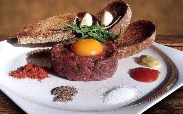 Tatarák z hanger steaku