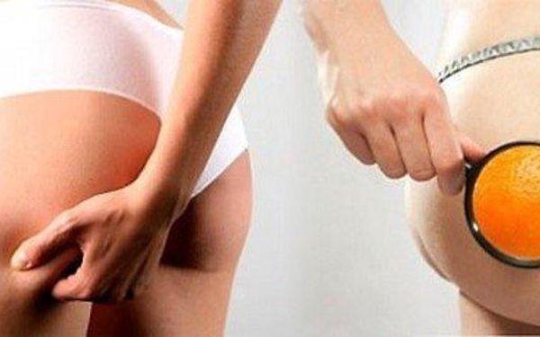 Masáž proti celulitidě a tvarování postavy