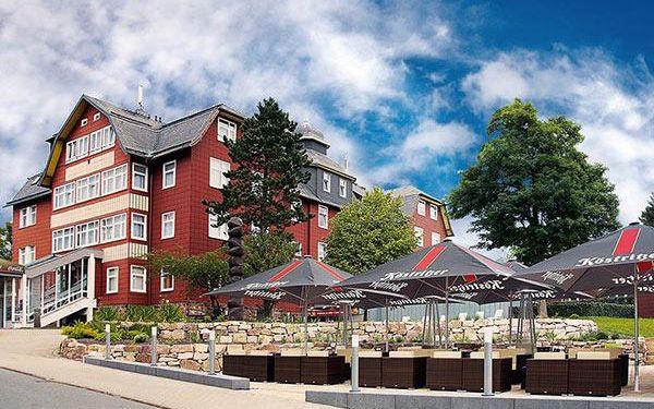 4* hotel v Německu s neomezeným wellness!
