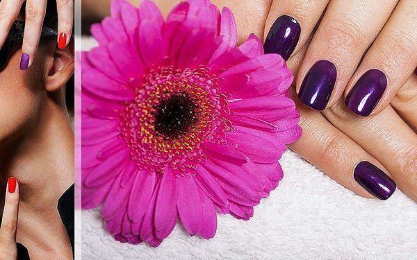 Gel-lak či gelová modeláž nehtů - možno využít i na doplnění. Perfektní vzhled rukou!!