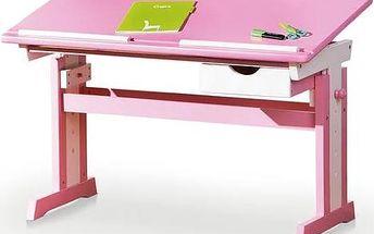 Polohovatelný psací stůl CECILIA s nastavitelnou výškou