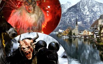 Zájezd do Rakouska pro 1 osobu do Solné komory, návštěvu Hallstattu a St. Wolfgangu a čertovský rej