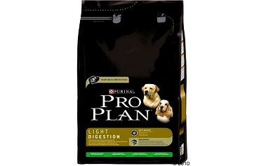 Pro Plan Dog Light Digestion Lamb 3 kg