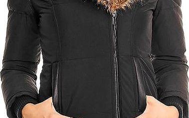 Dámská zimní bunda - černá Velikost: 36(S)