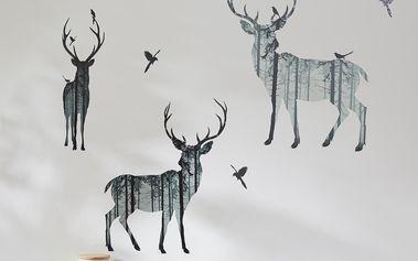 Tchibo, Sada nálepek na stěnu Lesní zvířata