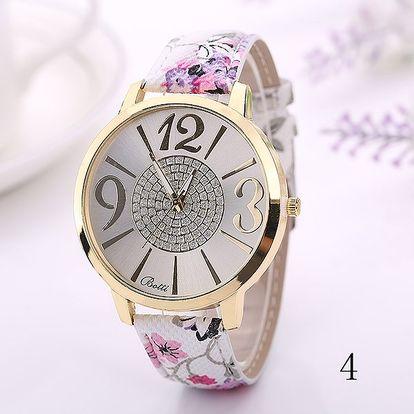 Dámské hodinky v romantickém stylu - několik barev