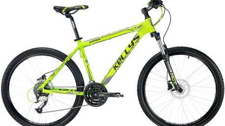 KELLYS Viper 50 Lime 2016 vel. M horské kolo + ZDARMA odborná montáž a seřízení