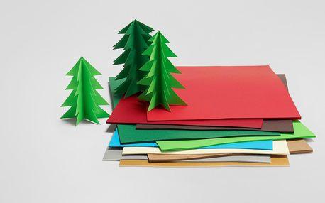Tchibo, Barevný papír, 100 listů