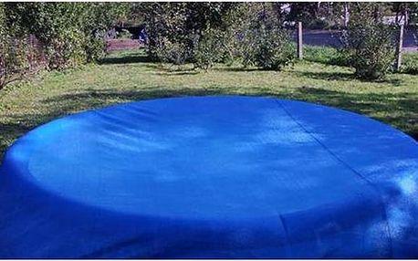Krycí plachta Relax , ovál 9 x 5m, na nadzemní bazény (bazén 9.1x4.6m) modrá