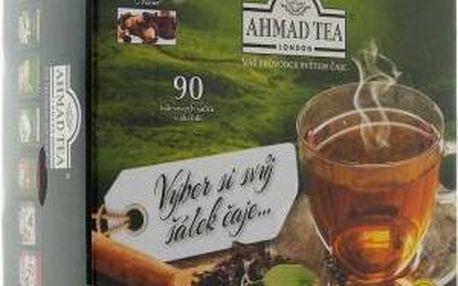 AHMAD TEA čajová kazeta Devět pokladů 9 x 10 sáčků