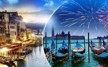 Benátky - kouzelný Silvestr v Itálii! 3denní zájezd pro 1 osobu s prohlídkou města! Doprava autobusem + průvodce!