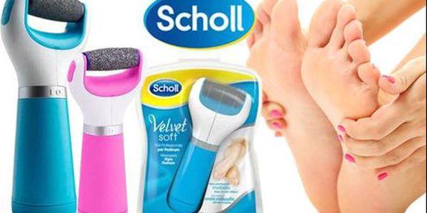 Elektrický pilník SCHOLL Velvet Soft s poštovným zdarma