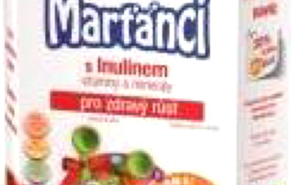 Walmark Marťánci s Inulinem MIX 100 + 30 tablet + dárek pro holky : VÝPRODEJ