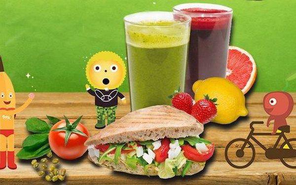 Fresh juice 500 ml s ciabattou či bez v Be Fresh
