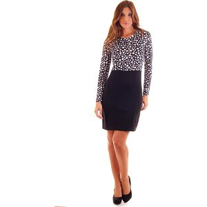 Ada Gatti Dámské šaty V606-BLACK
