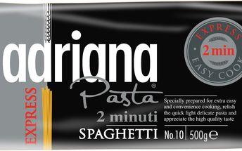 Adriana Adriana Špagety 2 minutysemolinové těstoviny sušené 500g
