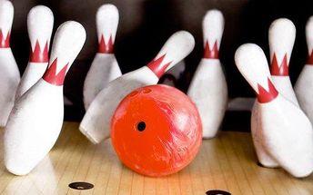 Bowling až pro 8 osob s možností občerstvení